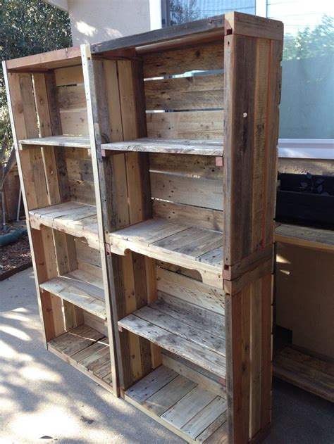 how to make pallet bookshelves pallet bookshelves pallet shelves pallet