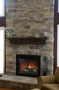 stone fireplaces before after traditional family