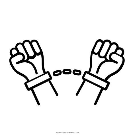 cadenas rotas para colorear prigioniero disegni da colorare ultra coloring pages