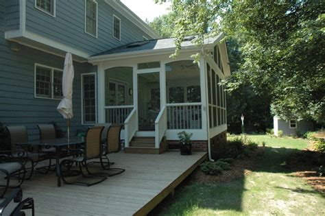Deck Step Lights by Screened Porch Ideas