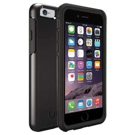 otterbox symmetry for apple iphone 6 black co uk electronics