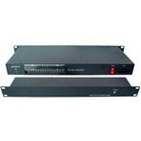 Power Suplay Cctv 12v 20a Box cctv power supply box rack 19 quot dc12v 20a braun ea