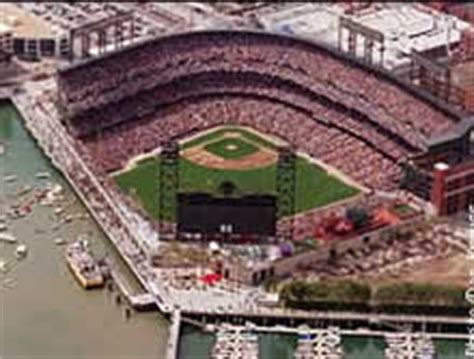 pac bell park seating xfl board xfl stadiums