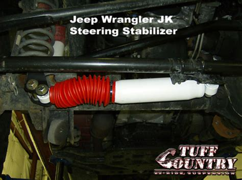 Replacing Steering Stabilizer Jeep Wrangler Jeep Wrangler Steering Stabilizer 2007 2017 By Tuff