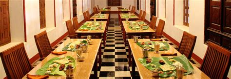 Traditional Dining Rooms chettinad lunch hall restaurants in karaikudi