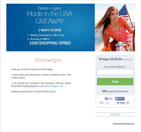 Facebook Sweepstakes Exles - 30 amazing exles of branded facebook contests done right