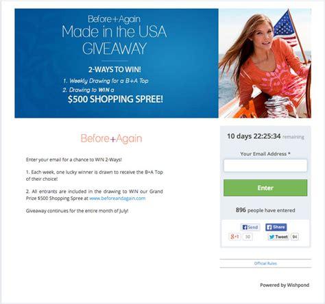 Facebook Prize Giveaway - 24 amazing facebook giveaway exles