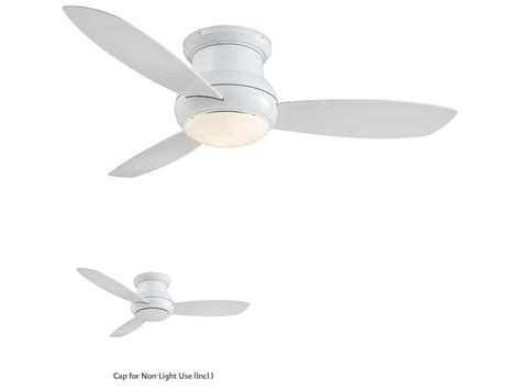 concept ii ceiling fan minka aire concept ii wet white 52 wide outdoor ceiling