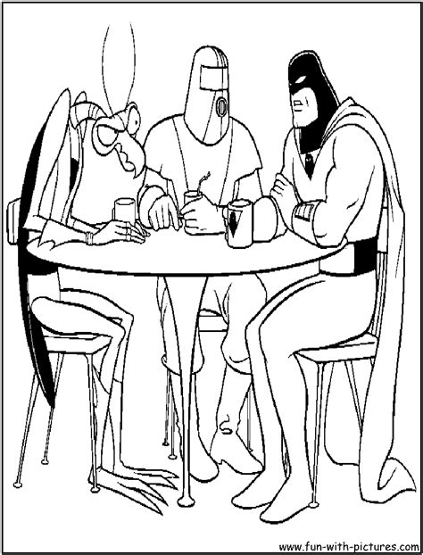 space ghost coloring pages spacegghost free coloring pages