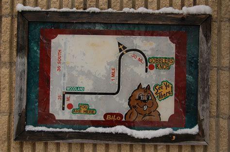 groundhog day gobblers knob map to gobbler s knob frugal travel
