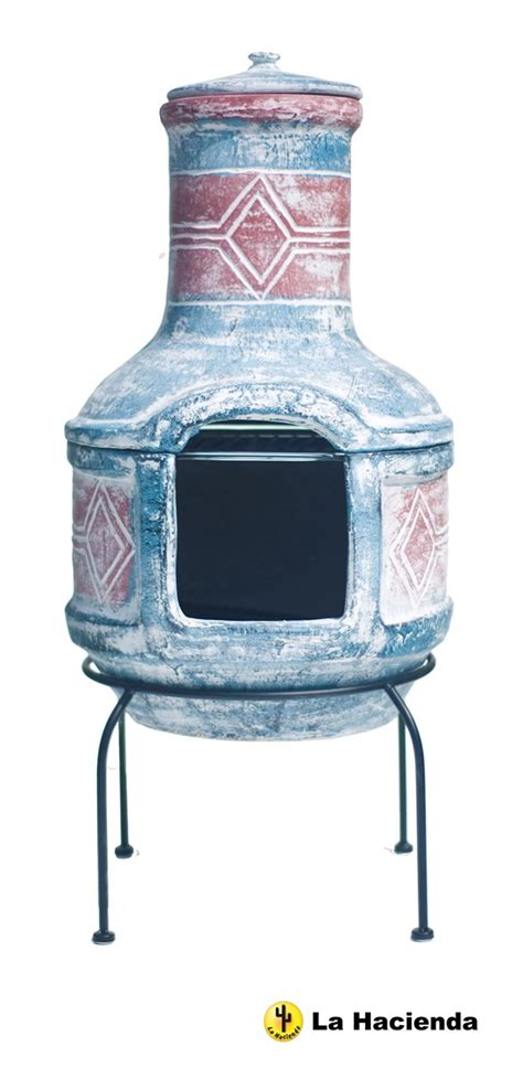 Chiminea Set Clay Chimenea Transfoms To Barbeque Patio Heater Bbq