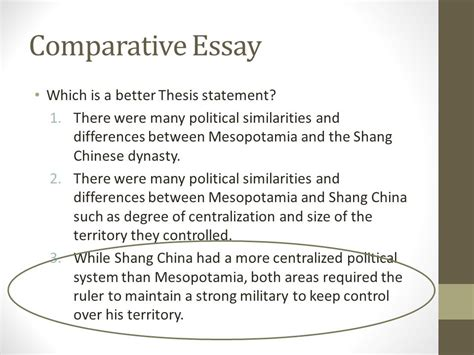 Comparative Analysis Essay Thesis by Comparative Essay Another Skill Historians Attempt To