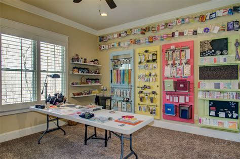 craft room best craft room designs home office traditional with