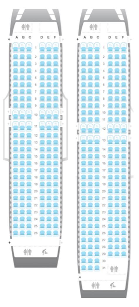plan siege avion easyjet airplane seat choices of european customers easyjet