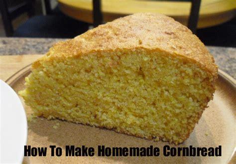 how to make homemade cornbread