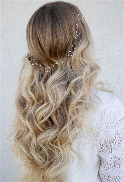 25 best ideas about soft curls on bridesmaid hair wedding hair and