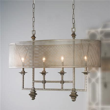 metal mesh l shade mesh screen shade island chandelier my stuff