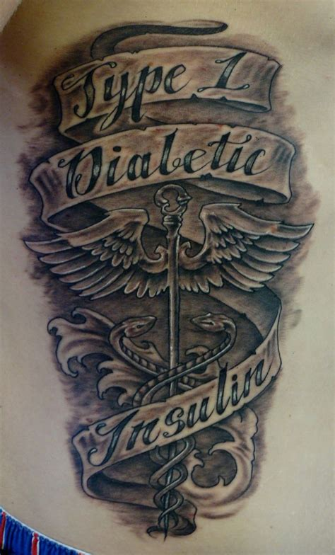 type 1 diabetic tattoo type 1 diabetes tattoos search tats