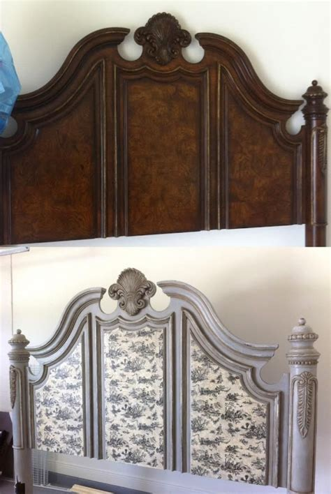 Decoupage Bed - best 25 headboard redo ideas on refurbished