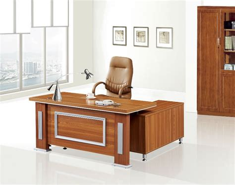 fashion cheap wooden manager office desk modular office