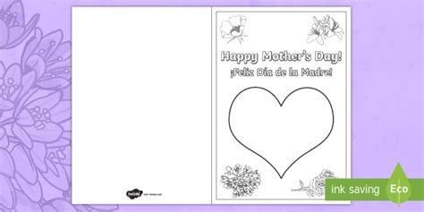 mothers day cards template office s day fingerprint gift card template