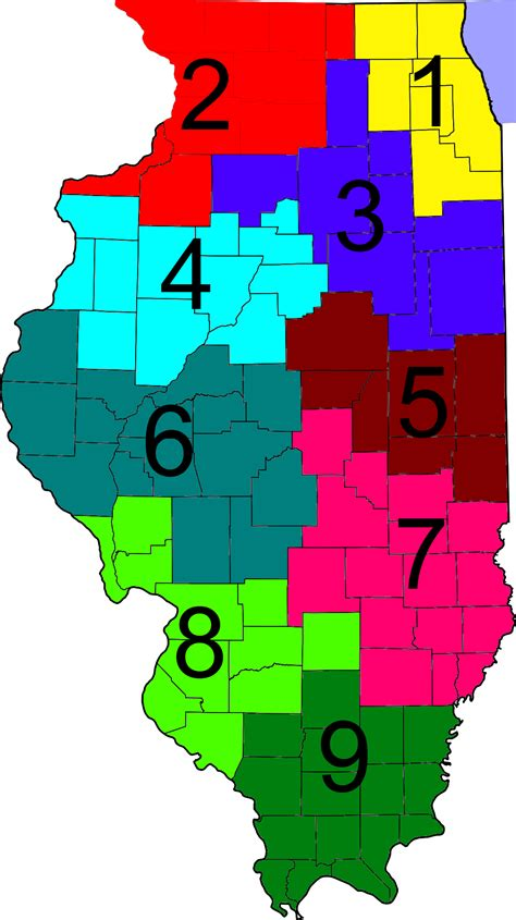 Illinois District Court Search Idot District Map Images