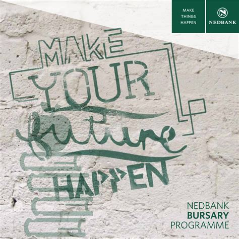 Mba Bursaries 2017 South Africa by Nedbank Undergraduate Bursary Programme 2018 For