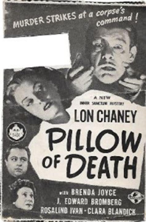 Pillow Of 1945 by Pillow Of 1945 Lon Chaney Jr Brenda Joyce J