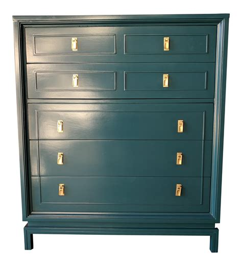 american of martinsville dresser hardware mid century newly lacquered hollywood regency dresser with