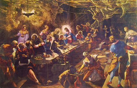 elenco artisti illuminati quot l ultima cena quot chiesa di san giorgio maggiore a venezia