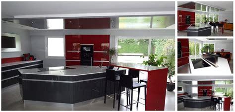 Attrayant Cuisine D Ete Moderne #2: Cuisine-rouge-originale-Concours-Arthur-Bonnet.jpg