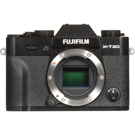 Fujifilm X T20 Mirrorless Digital Only Black fujifilm x t20 mirrorless digital with 16 50mm lens filters exchange photography