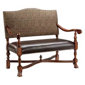 stein world classic high back settee bedroom benches at