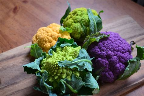 nourish the roots multi colored cauliflower
