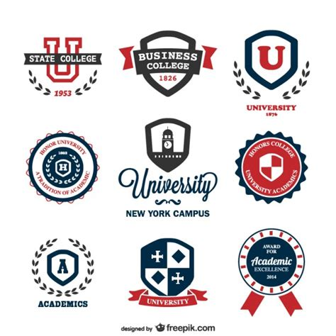 school logo design template vector logos templates vector free