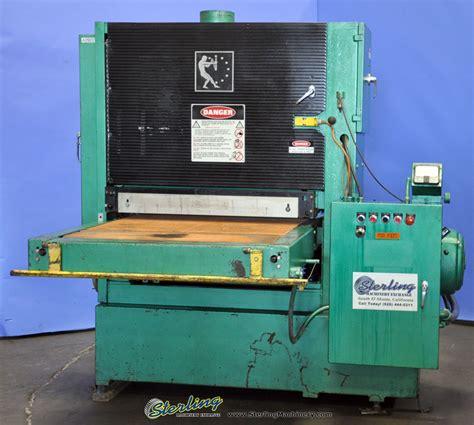 used timesaver wide belt sander wood sander sterling