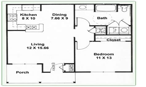 Two Bed Two Bath Floor Plans | 2 bedroom 1 bath floor plans 2 bedroom 2 bathroom 3