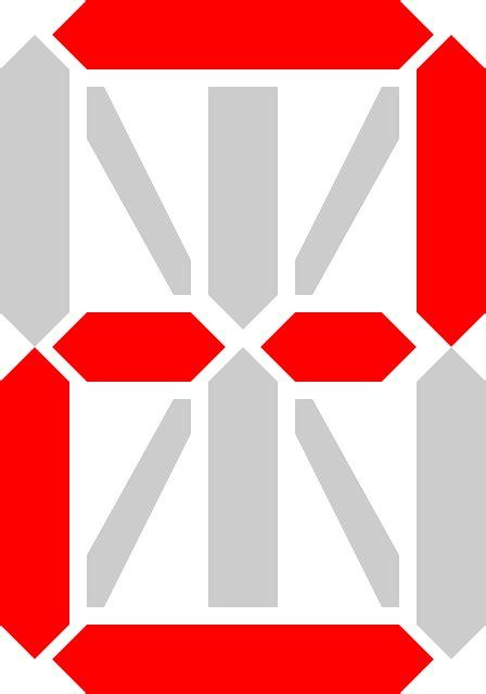 Angka Digital 2 Digit digital display number 183 free vector graphic on pixabay