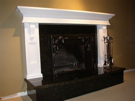 painted fireplace mantel eclectic indoor fireplaces