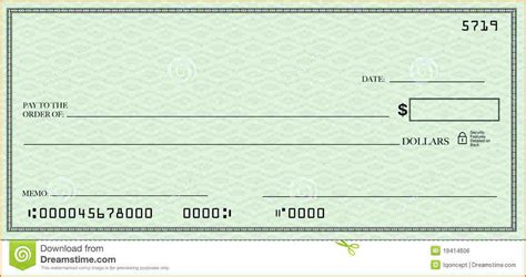 Blank Check Template Shatterlion Info Blank Check Template Pdf
