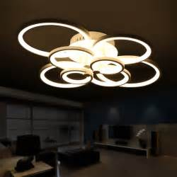 Bedroom Led Ceiling Lights Remote Living Room Bedroom Modern Led Ceiling Lights Luminarias Para Sala Dimming Led