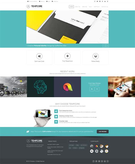 html5 template business tempcore business html5 template by premiumlayers