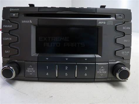 Kia Soul Cd Player Kia Soul 2010 11 Am Fm Radio Mp3 Cd Player W Bluetooth