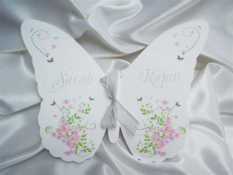 free wedding program templates butterflys   Butterfly