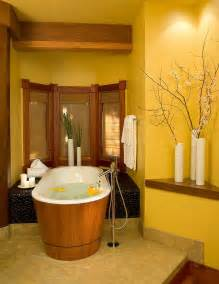 Yellow And Brown Bathroom Decor » New Home Design
