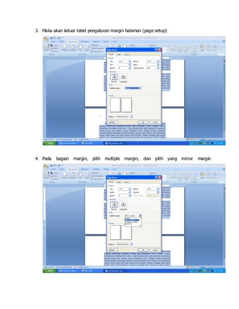 membuat nomor halaman bolak balik cara mudah mengatur nomor dan margin halaman untuk print