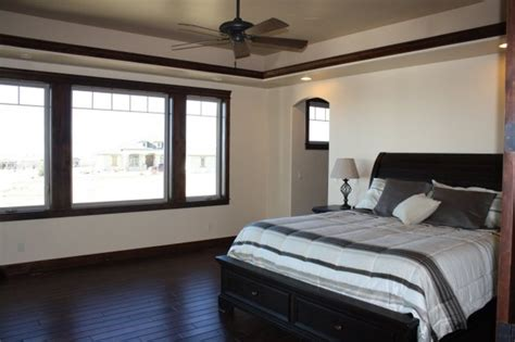 bedroom trim lovely dark trim modern bedroom denver by