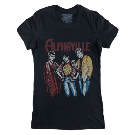 T Shirt Alpha Hardrock alphaville t shirt retro magic store