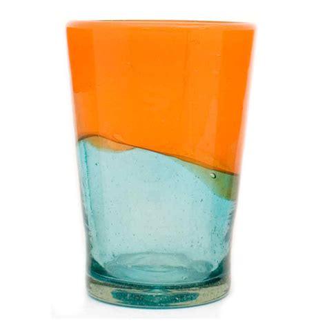 orange and turquoise tablescape turquoise with orange orange and aqua tumbler milagros