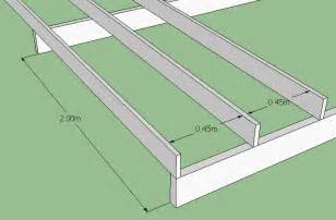 rafter spacing how to build a deck softwoods